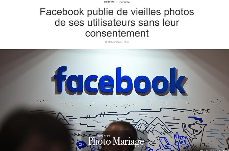 Partager ses photos de mariage sur Facebook est une très mauvaise idée pour votre vie privée, et les risques concernant votre droit à l'image et celui de vos invités sont élevés.