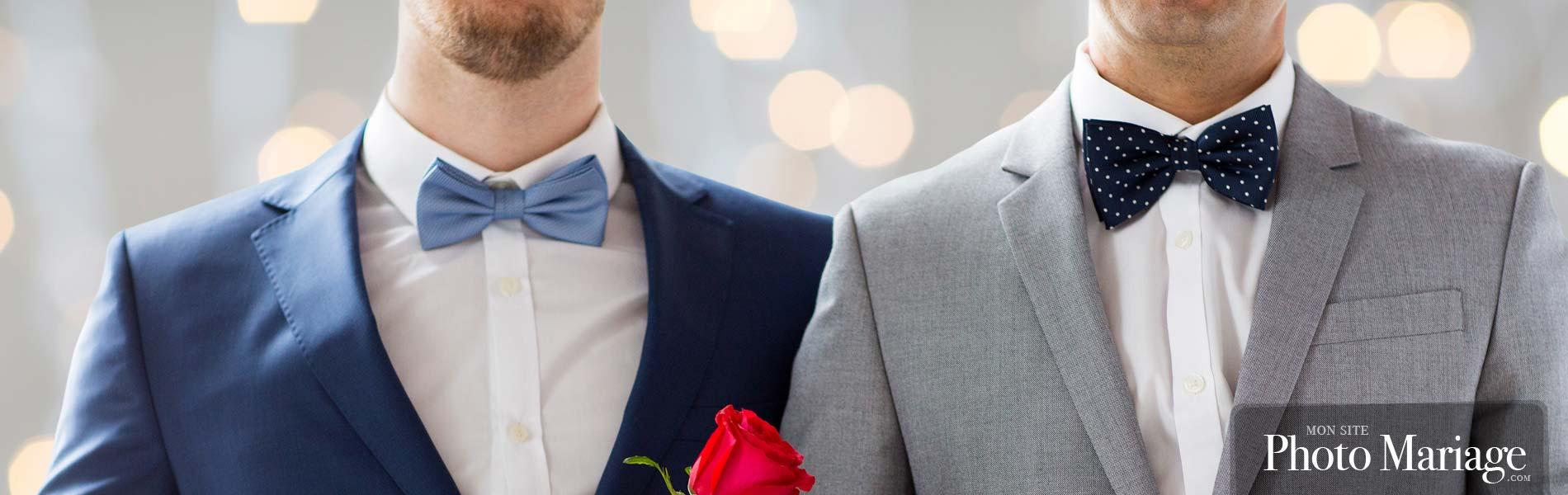 Idéal pour partager vos photos de mariage Gay
