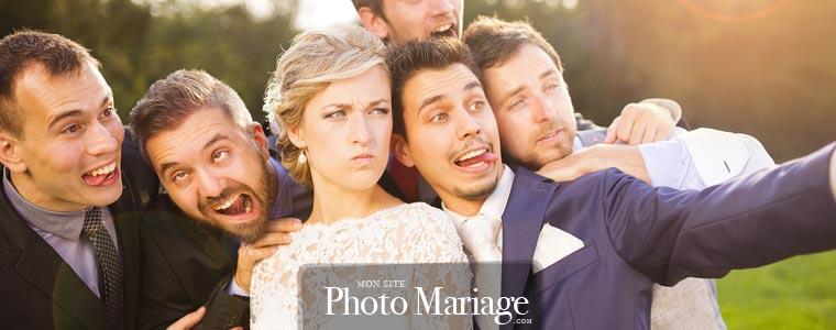 Créer un site de mariage privé permet de partager aussi des photos avec ses témoins