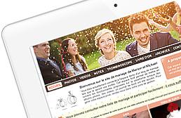Personnalisez votre site de mariage en quelques minutes