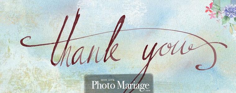 Quelques conseils avant d'envoyer vos cartes de remerciements