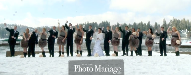 La traditionnelle photo avec les invités