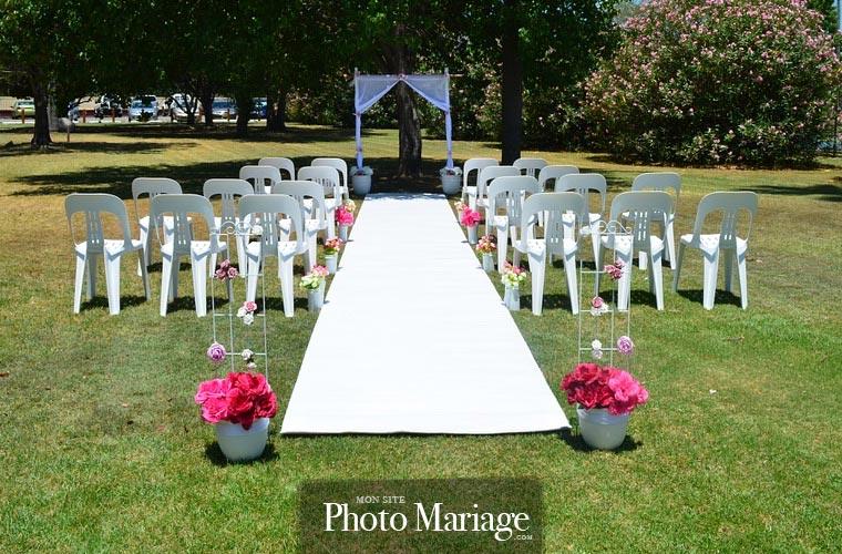 Organiser un mariage champêtre et une cérémonie en extérieur est de plus en plus tendance