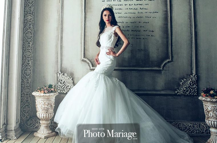 Il est également possible de commander une robe de mariée sur mesure, par exemple chez un créateur, si votre porte-monnaie le permet !