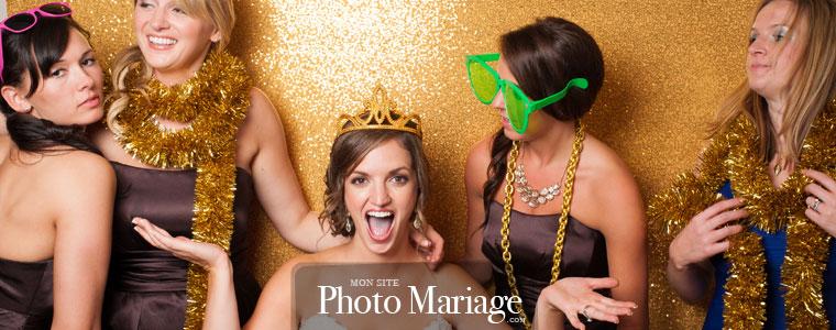 Photo booth de mariage : La mise en place d'un photobooth, c'est aussi l'occasion de faire des photos avec ses amis