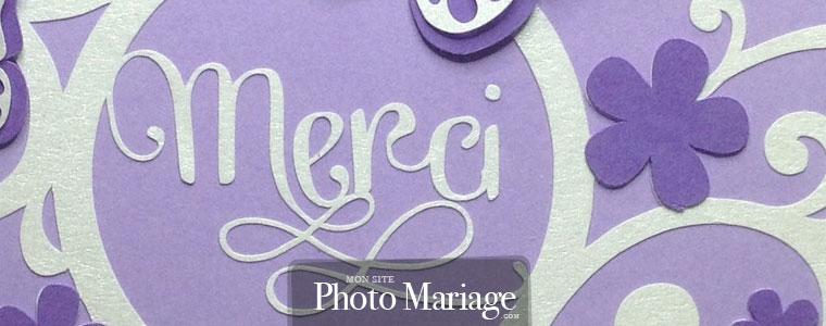 Carte de remerciement : pensez éventuellement à une carte de remerciements spéciale que vous enverrez personnellement au wedding planner lui même.