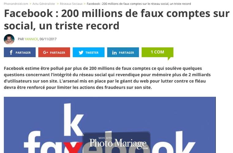 Facebook : 200 millions de faux comptes sur le réseau social : l'usurpation d'identité grimpe en flèche sur Facebook