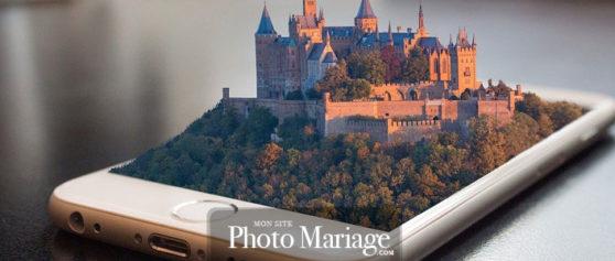Application photos de mariage pour partager