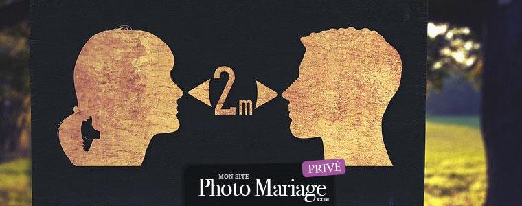 Depuis le 11 mai, il est à nouveau possible de se marier, avec des règles précises de distanciation socialeet en respectant les gestes barrières et les consignes imposées par le gouvernement.
