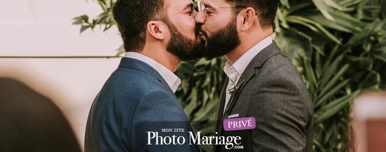 Partager des photos d'un mariage gay : préférez une plateforme privée