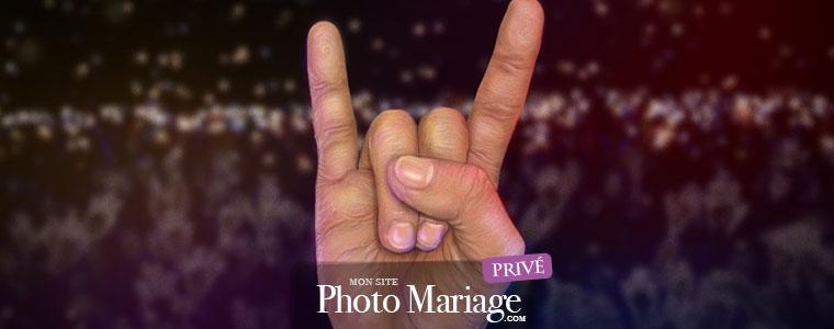 Organiser un mariage rock
