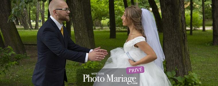 Partage photo de mariage sécurisé avec la famille et seulement les invités de son mariage