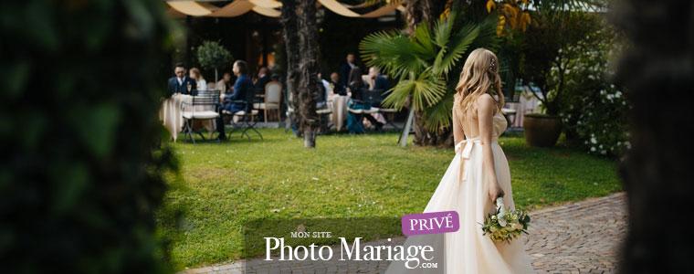 Sécurisé et privé, votre diaporama photo de mariage en direct permettra de partager tous vos souvenirs de jeunes mariés avec vos invités