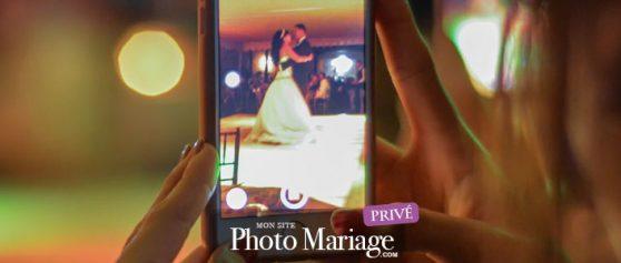 Mariage/wedding : diaporama photos de mariage en direct